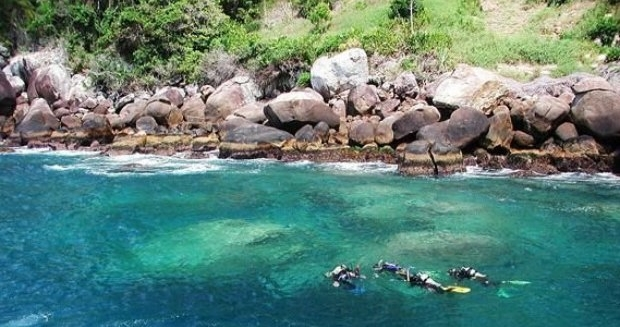 Scuba Diving; Ilha das Cabras; Ilhabela