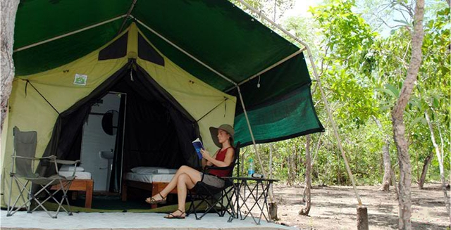 Campsite, Jalapao State Park - Tocantins