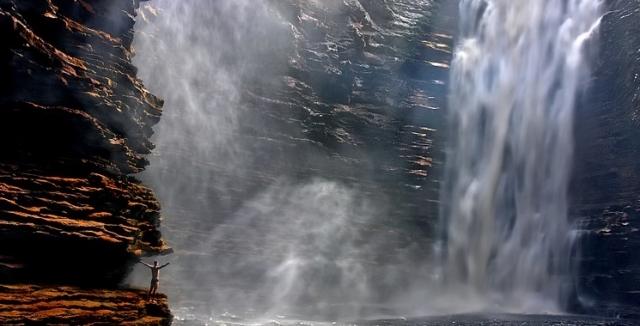 The Buracao Canyon in The Chapada da Diamantina National Park