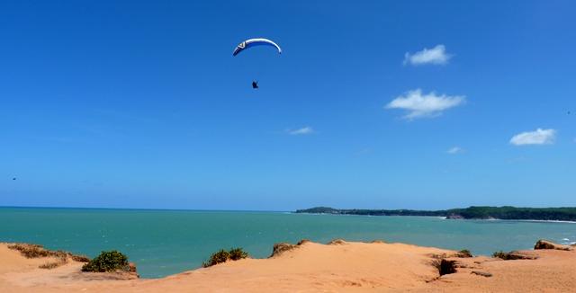 Paragliding, Praia da Pipa