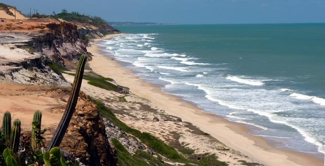 Overview of Praia da Pipa
