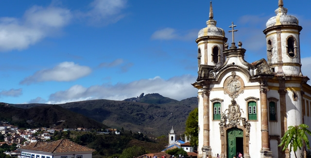 St Francisco de Assis Church, Ouro Preto - Minas Gerais