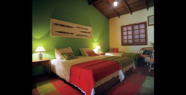 Bedroom at Pousada Mutum, Pantanal