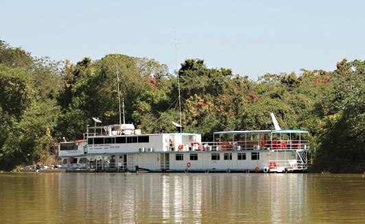 Rio Cuiaba Flotel, SouthWild Pantanal Lodge