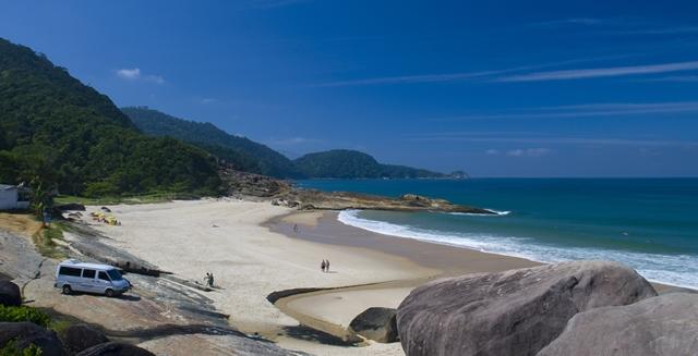 Praia do Cepilho, Trindade, Paraty