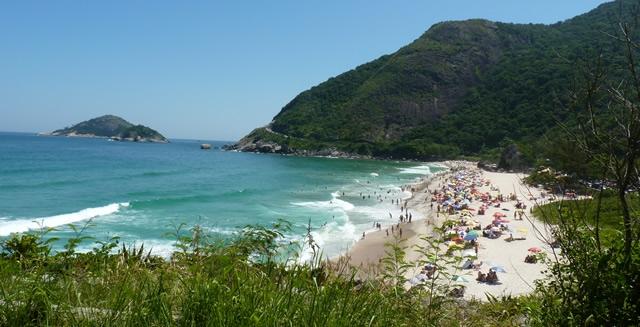 Prainha, a preserved beach aerea of Rio de Janeiro