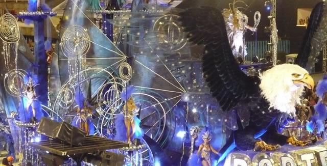 Rio de Janeiro Carnaval Float