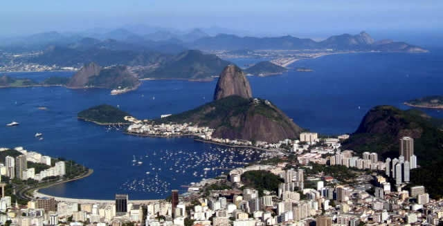 View of Sugar Loaf Mountain, Rio de Janeiro