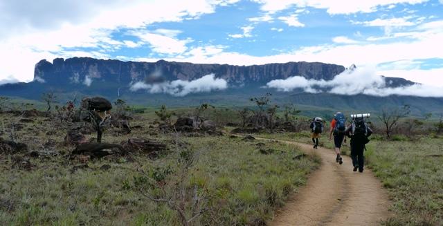 Trekking to Mount Roraima