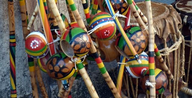 Berimbau, Capoeira Music Instrument, Salvador