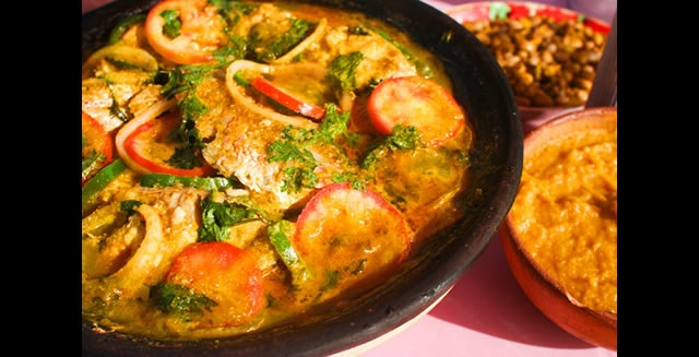 Moqueca de Peixe, Bahia Traditional Fish Stew Dish
