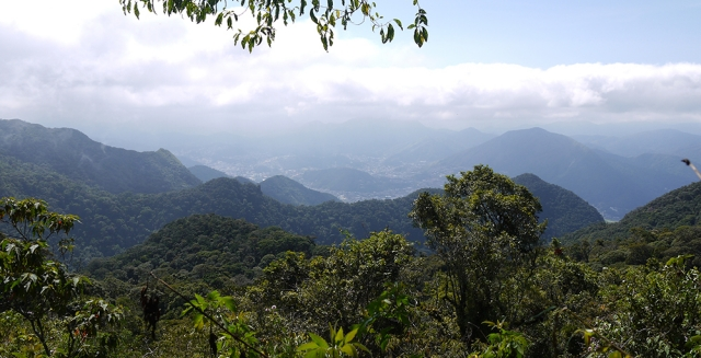 Descent to Teresopolis, Serra dos Orgaos National Park