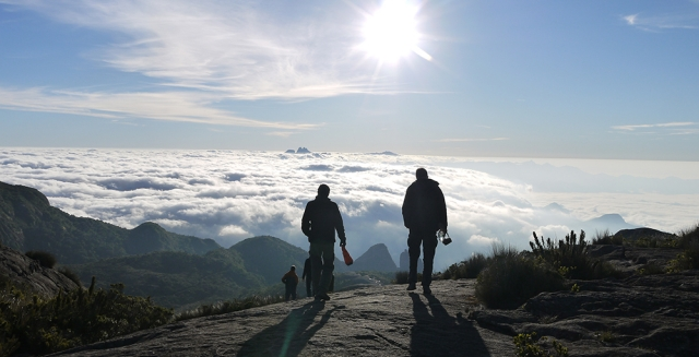 Sunrise on top of Pedra do Sino, Serra dos Orgaos National Park