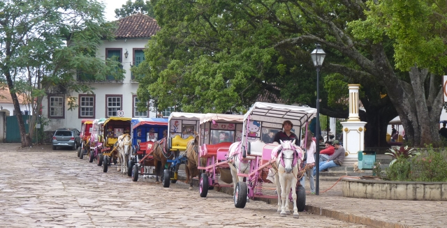Horses in the Main Square, Tiradentes